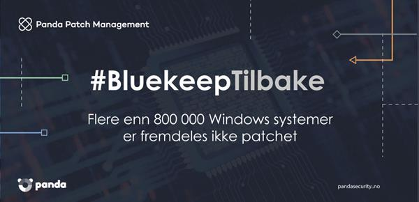 Bruk Panda Patch Management for å unngå BlueKeep
